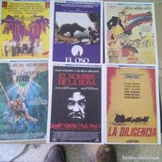 Cine: GUIAS DE PELICULAS DE DIARIO 16. Lote 195705281