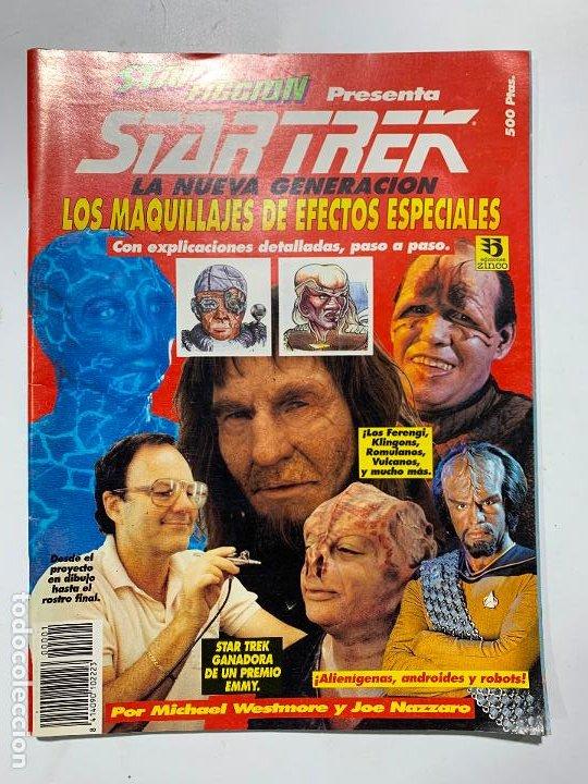 REVISTA STAR FICCION STAR TREK LA NUEVA GENERACION MAQUILLAJES DE EFECTOS ESPECIALES (Cine - Revistas - Star Ficcion)
