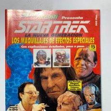Cine: REVISTA STAR FICCION STAR TREK LA NUEVA GENERACION MAQUILLAJES DE EFECTOS ESPECIALES. Lote 195764167