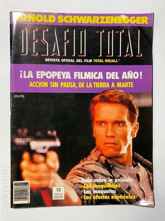 REVISTA OFICIAL DEL FILM TOTAL RECALL DESAFIO TOTAL ARNOLD SCHWARZENEGGER (Cine - Revistas - Star Ficcion)