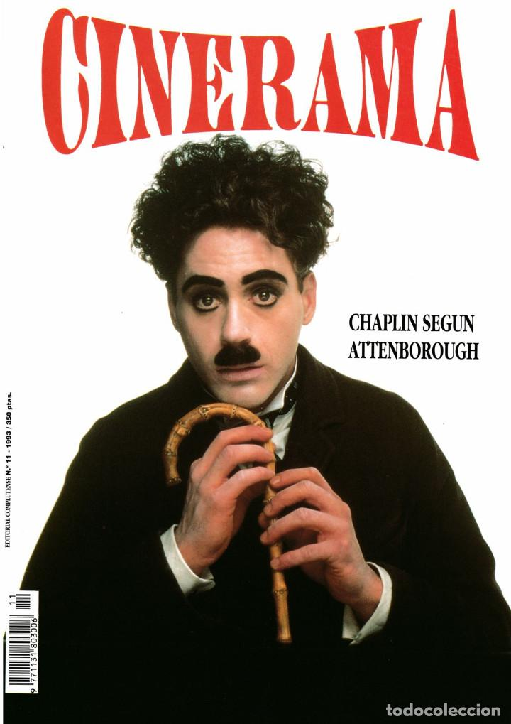 CINERAMA Nº 11-1993 (WOODY ALLEN/ AUDREY HEPBURN/ ALICIA PAIS MARAVILLA DISNEY/ HOMBRE LOBO/KEN LOAC (Cine - Revistas - Cinerama)