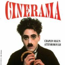 Cine: CINERAMA Nº 11-1993 (WOODY ALLEN/ AUDREY HEPBURN/ ALICIA PAIS MARAVILLA DISNEY/ HOMBRE LOBO/KEN LOAC. Lote 195898622