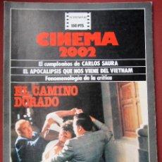 Cine: CINEMA 2002 NÚMERO 59 - REVISTAS DE ESTA COLECCIÓN CON 40% POR TIEMPO ILIMITADO. Lote 196060773