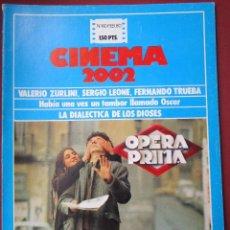 Cine: CINEMA 2002 NÚMERO 60 - REVISTAS DE ESTA COLECCIÓN CON 40% POR TIEMPO ILIMITADO. Lote 196061550