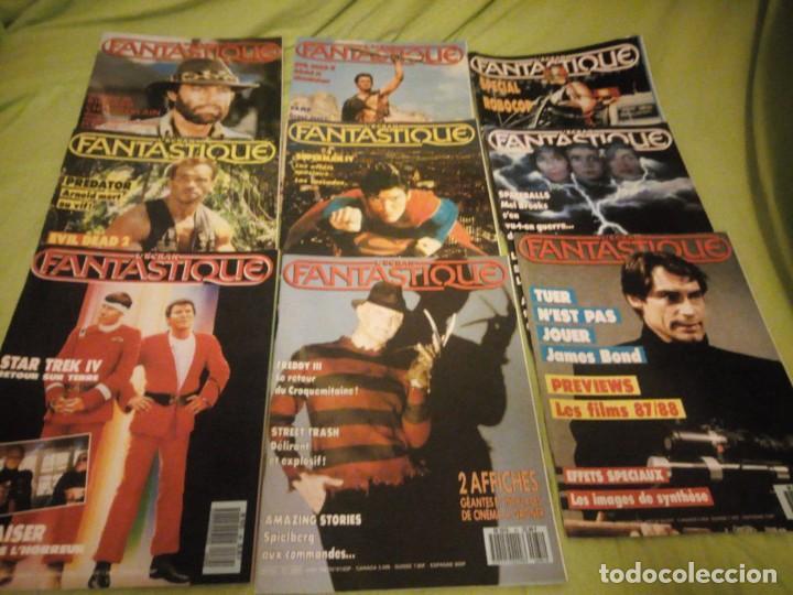 L'ÉCRAN FANTASTIQUE N°78,80,81,82,83,84,85,88,89,1986- 1987 REVISTA DE CINE FRANCES (Cine - Revistas - Otros)