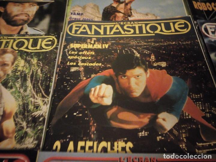 Cine: LÉCRAN FANTASTIQUE N°78,80,81,82,83,84,85,88,89,1986- 1987 REVISTA DE CINE FRANCES - Foto 8 - 196111256