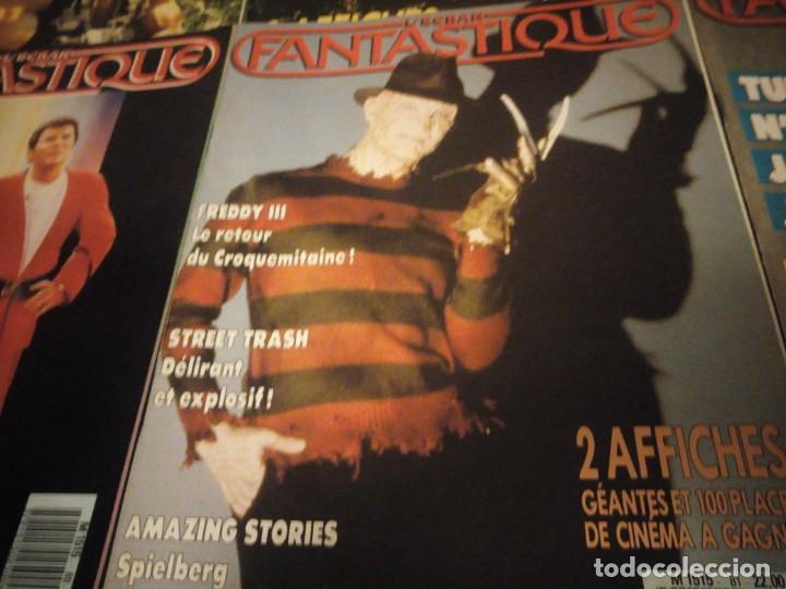 Cine: LÉCRAN FANTASTIQUE N°78,80,81,82,83,84,85,88,89,1986- 1987 REVISTA DE CINE FRANCES - Foto 9 - 196111256