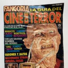 Cine: REVISTA FANGORIA LA GUÍA DEL CINE DE TERROR. Lote 196158536