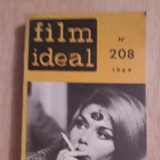 Cinema: 1 REVISTA DE ** FILM IDEAL. Nº 208. ** AÑO 1969. 216 P. 25X12 CMS.. Lote 196233673