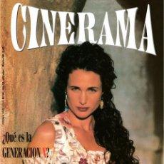 Cine: CINERAMA Nº 26-1994 (ARISTOGATOS / HENRY FONDA/ PSICOSIS/ VINCENT PRICE/ GENERACIÓN X / BELLO VIVIR). Lote 196284846