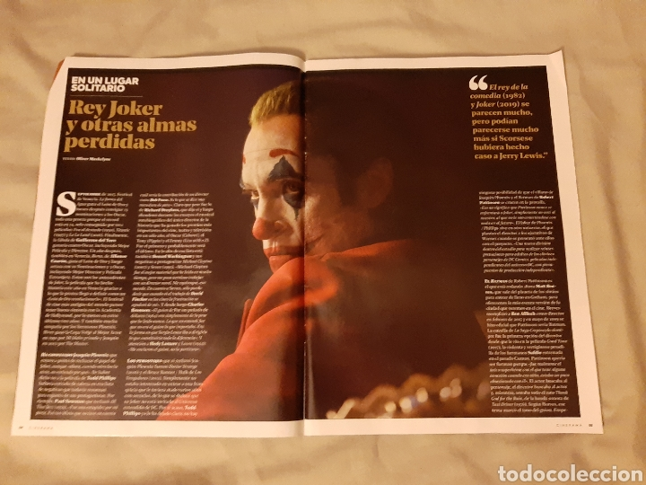 Cine: Revista Cinerama, Yelmo Cines N° 288. Diciembre 2019 - Foto 3 - 196388990
