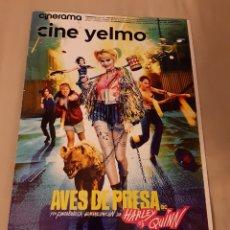 Cinema: REVISTA CINERAMA, YELMO CINES N° 290. FEBRERO 2020. Lote 196389402