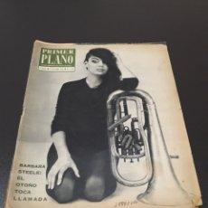 Cine: PRIMER PLANO N°1.147. 5 DE OCTUBRE 1962. BARBARA STEELE, AUDREY HEPBURN.. Lote 196476013