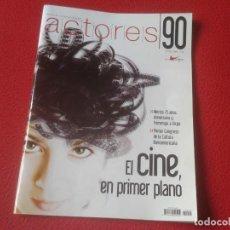 Cine: REVISTA MAGAZINE 90 DE LA UNIÓN ACTORES CINE TEATRO PELÍCULAS OBRAS FILMS OTOÑO 2008 MÉRIDA.....VER.. Lote 196505281