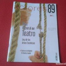 Cine: REVISTA MAGAZINE 89 DE LA UNIÓN ACTORES CINE TEATRO PELÍCULAS...VERANO 2008 INFANTA ISABEL.......VER. Lote 196506126