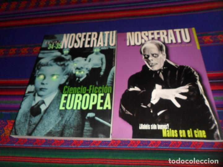 NOSFERATU REVISTA DE CINE 20 SECUNDARIOS ANTAGONISTAS 27 MALOS EN EL 34-35 CIENCIA FICCIÓN EUROPEA. (Cine - Revistas - Otros)
