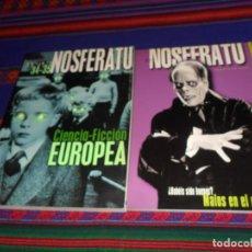 Cine: NOSFERATU REVISTA DE CINE 20 SECUNDARIOS ANTAGONISTAS 27 MALOS EN EL 34-35 CIENCIA FICCIÓN EUROPEA.. Lote 196516886