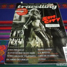 Cine: TRAVELLING Nº 6 MAYO 05. SIN CITY JOHN WILLIAMS ISABEL COIXET J.A. BAYONA RICARDO DE GRACIA.. Lote 196576795