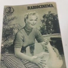 Cine: RADIOCINEMA. N. 269. Lote 196677051