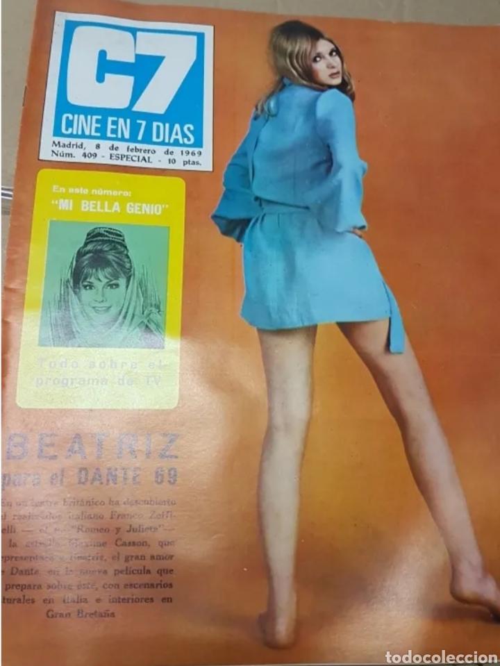 Cine: Lote revistas cine en 7 días - Foto 2 - 196723630