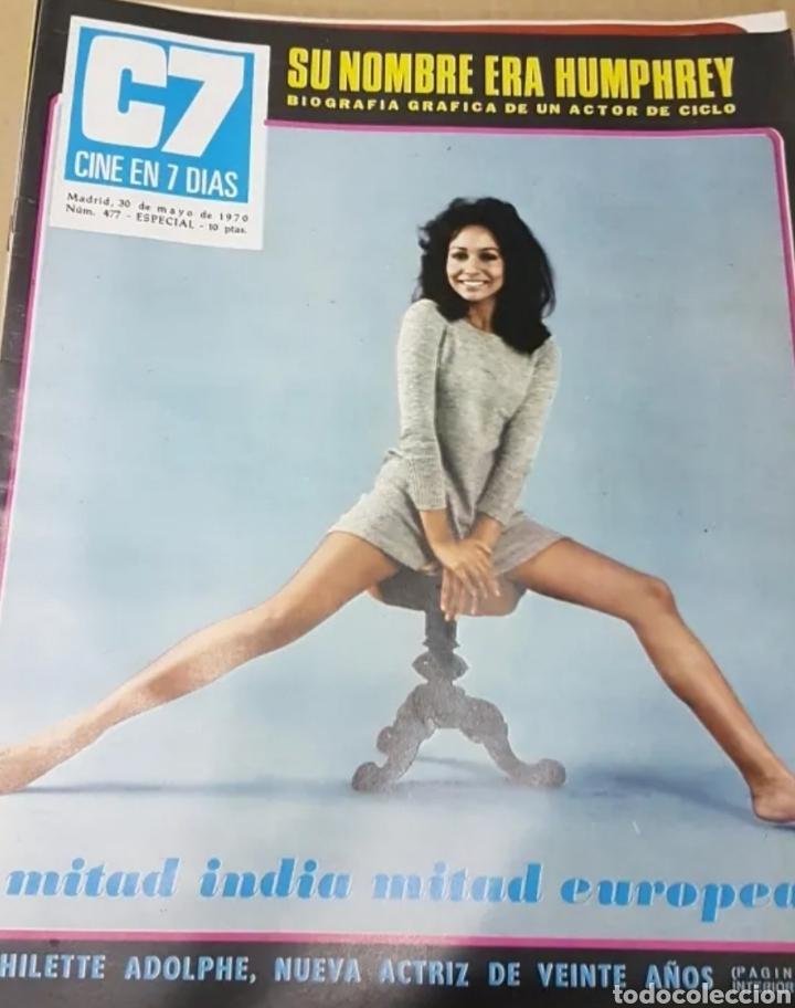 Cine: Lote revistas cine en 7 días - Foto 3 - 196723630