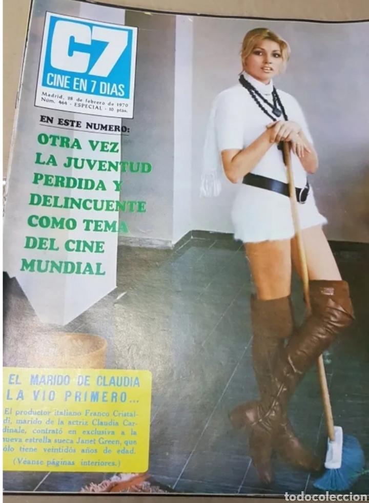 Cine: Lote revistas cine en 7 días - Foto 4 - 196723630