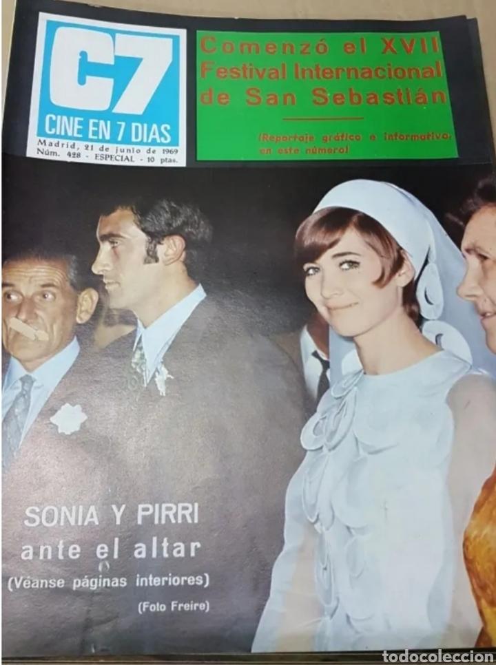 Cine: Lote revistas cine en 7 días - Foto 5 - 196723630