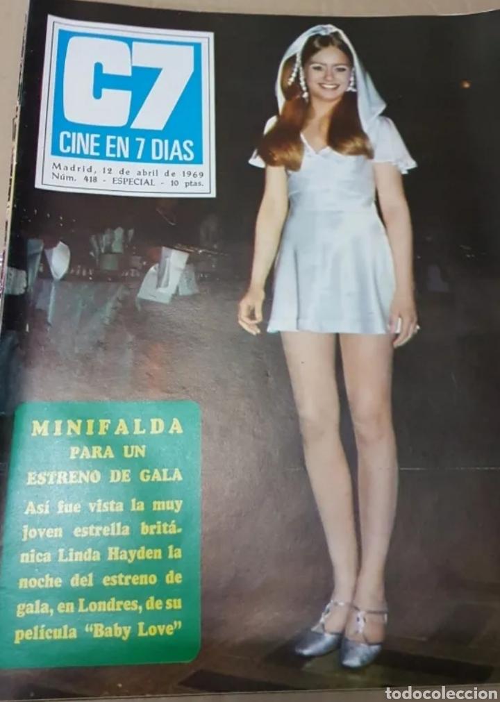 Cine: Lote revistas cine en 7 días - Foto 6 - 196723630