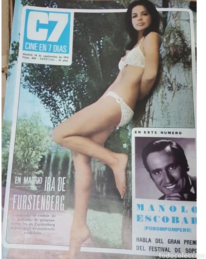 Cine: Lote revistas cine en 7 días - Foto 7 - 196723630