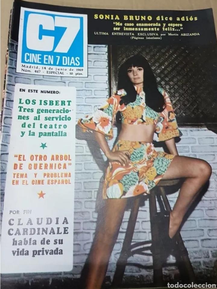 Cine: Lote revistas cine en 7 días - Foto 8 - 196723630