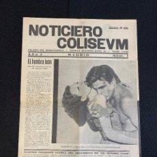 Cine: CINE - EL HOMBRE LEON - TARZAN - NOTICIERO COLISEUM - AÑO 1, N. 1 - 1933. Lote 196750180