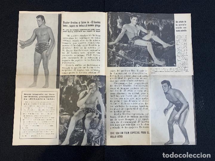 Cine: CINE - EL HOMBRE LEON - TARZAN - NOTICIERO COLISEUM - AÑO 1, N. 1 - 1933 - Foto 2 - 196750180