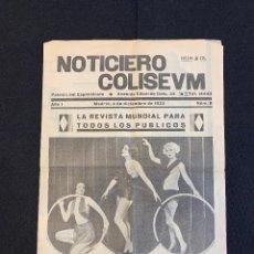 Cine: CINE - VAMPIRESAS 1933 - NOTICIERO COLISEUM - AÑO 1, N. 8 - 1933. Lote 196750703
