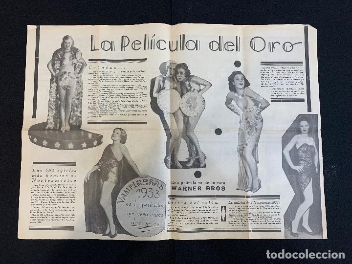 Cine: CINE - VAMPIRESAS 1933 - NOTICIERO COLISEUM - AÑO 1, N. 8 - 1933 - Foto 2 - 196750703