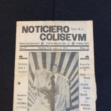 Cine: CINE - LA FARANDULA TRAGICA - NOTICIERO COLISEUM - AÑO 2, N. 10 - 1934 - CIRCO. Lote 196750982