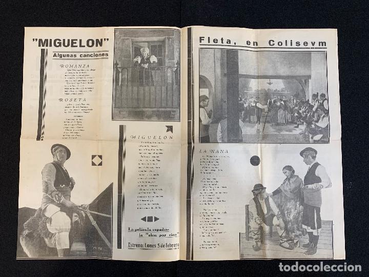 Cine: CINE - MIGUEL FLETA - NOTICIERO COLISEUM - AÑO 2, N. 13 - 1934 - OPERA - Foto 2 - 196751420