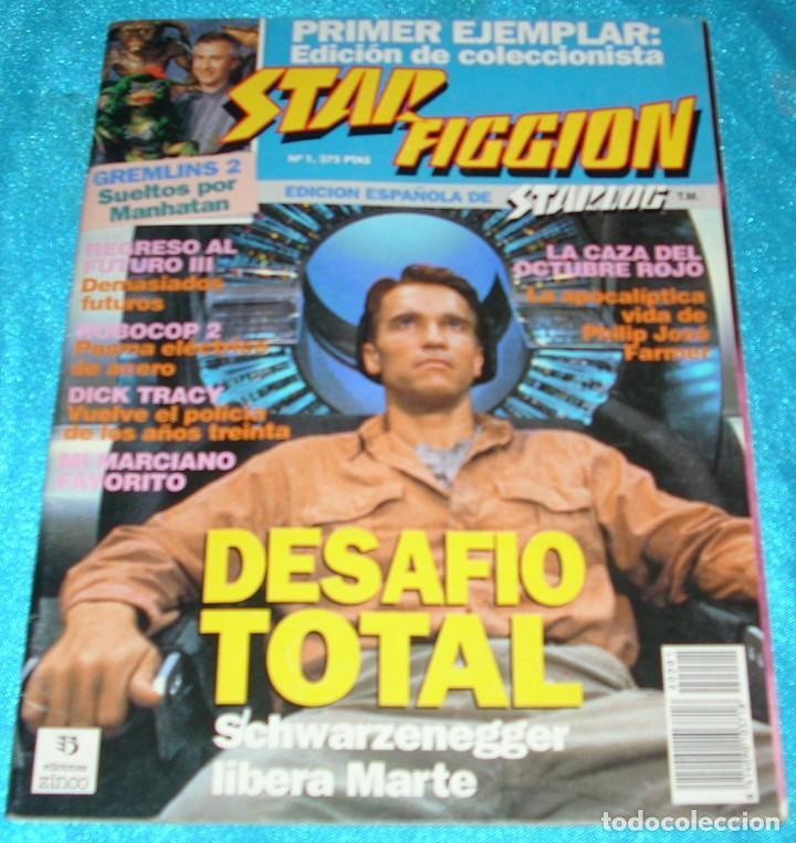 STAR FICCION EL DIFICIL Nº 1- MUY BUEN ESTADO-IMPORTANTE LEER DESCRIPCION Y VER FOTOS (Cine - Revistas - Star Ficcion)