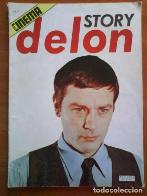 STORY DELON -CINEMA - 1976 // EN FRANCÉS - FOTOGRAFÍAS (Cine - Revistas - Cinema)