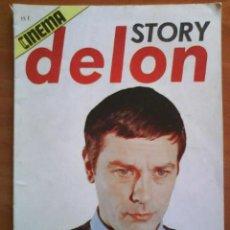 Cine: STORY DELON -CINEMA - 1976 // EN FRANCÉS - FOTOGRAFÍAS. Lote 196825680