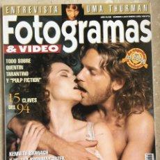 Cine: REVISTA FOTOGRAMAS Nº 1815, ENERO 1995 . Lote 196925607