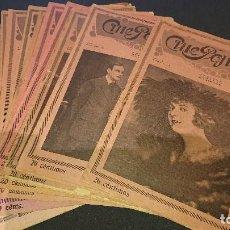 Cine: 15 REVISTAS ANTIGUAS - CINE POPULAR AÑO 1921- NUMEROS : - LEER DESCRIPCION. Lote 197168200