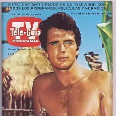 Cine: TARZAN REVISTA MEXICANA DE TV RON ELY MAGAZINE. Lote 197378593