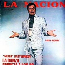 Cine: LARRY HAGMAN DALLAS REVISTA ARGENTINA MAGAZINE INTERVIEW 80S. Lote 197380355