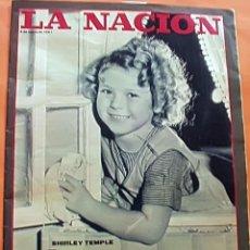 Cine: SHIRLEY TEMPLE SU HISTORIA REVISTA ARGENTINA REPORTAJE 1981. Lote 197386448