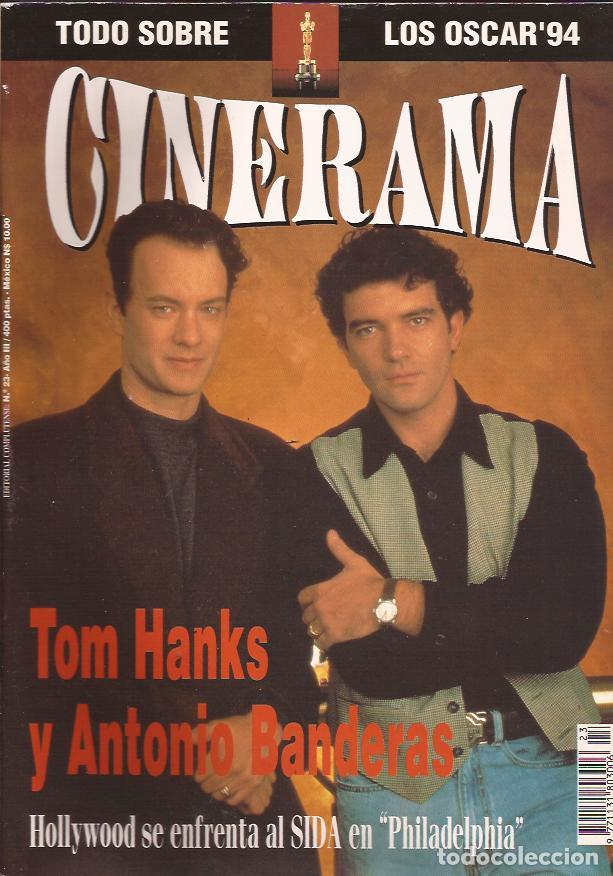 REIVISTA DE CINE CINERAMA Nº 23 ANTONIO BANDERAS TOM HANKS OSCARS (Cine - Revistas - Cinerama)