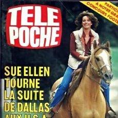 Cine: LINDA GRAY DALLAS SERIE TV REVISTA FRANCESA MAGAZINE FRANCE TELE POCHE. Lote 197410512