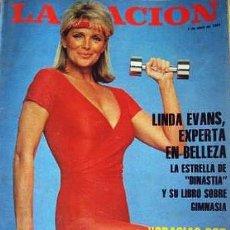 Cine: LINDA EVANS DYNASTY DINASTIA SERIE TV REVISTA ARGENTINA. Lote 197413700