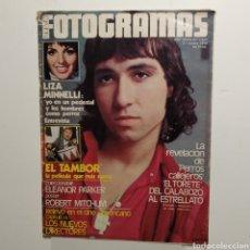 Cinema: FOTOGRAMAS AÑO 33, NÚMERO 1617, OCTUBRE 1979, EL TORETE, LIZA MINELLI, EL TAMBOR, ROBERT MITCHUM. Lote 197436935