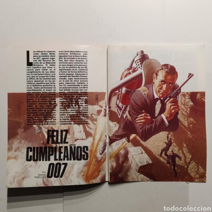 Cine: Mitos FOTOGRAMAS JAMES BOND Cumple 25 años, 007, Timothy Dalton, Sean Connery - Foto 3 - 197439386