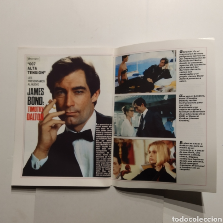 Cine: Mitos FOTOGRAMAS JAMES BOND Cumple 25 años, 007, Timothy Dalton, Sean Connery - Foto 6 - 197439386